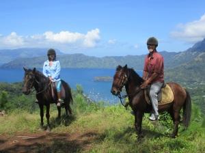 on horses HO